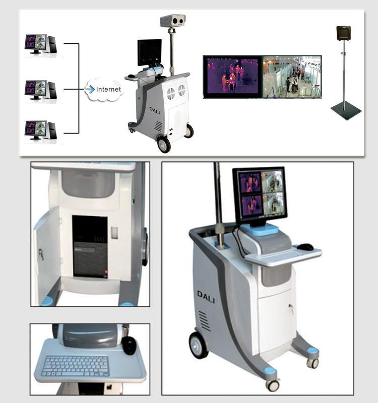 DM60-W 384*288 imageur thermique infrarouge caméra Virus Ebola corps humain système de mesure de température