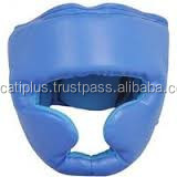 Lightweight Open Face Synthetic Leather PU Boxing Head Guard