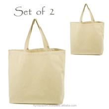 customcotton tote bag/ foldable cotton shopping bag/ cotton canvas tote bags