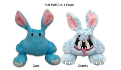 2-in-1 Plush Toy Cute & Cranky