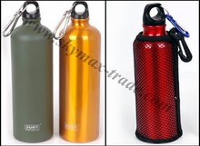Sport Water Bottle 500ML/1000ML + Key Chain