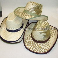 VIET NAM FACTORY OF NATURAL STRAW HAT, PALM LEAF HAT_ CHEAPEST PRICE( skype : greenhouse190585/info@gianguyencraft.com)