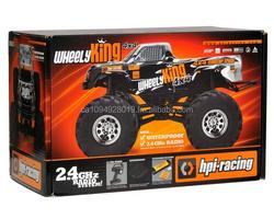 HPI Wheely King 4WD RTR Monster Truck w/2.4GHz Transmitter Battery & Charger HPI106173
