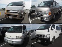 Japonês usado van com boa economia de combustível made in Japan