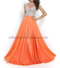 lolipop orange party wear dress
