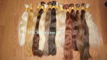 100% remy virgin color that bleached from black human natural hair