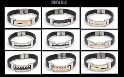 China supplier men basketball bracelet fashion jewelry item details well done fashionable jewelry