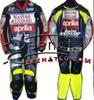 Nastro Azzuro Aprilia Dunlop Domina leather motorbike suit