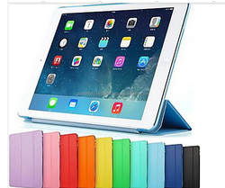 New 2015 Folded ptotective case for ipad mini 4 flip stand leather case For Apple iPad mini 4
