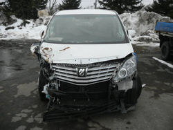wholesale japanese products for export accidented used car damaged toyota alphard made in japan good condition white color