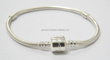 Customer Silver Brand Europe Snake Bracelet Design 925 Jewelry Factory in Thailand