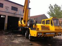 Used truck crane tadano 65t cheap machine