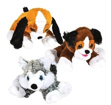 "15.5"" DAWGIE DOG MIX PLUSH"