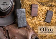 Ohio Leather Flip Case