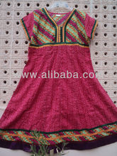 kurtas señoras largo bordado tunicsgreen túnicas vestido vintage de las minorías étnicas occidental anarkali kurtis