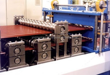 Roof Metal Tile Roll Forming Machine Line