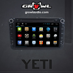 Growl Audio Android OEM Head Unit fit for Volkswagen Yeti 2009-2013