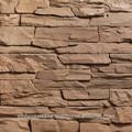 Revestimento de parede de pedra Artificial pedra fabricação de concreto folheado de pedra telha da parede
