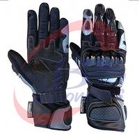 Custom design genuine leather motorbike gloves/ waterproof gloves motorcycle