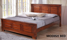 SOLID WOOD BED, WOODEN BED FURNITURE, WOODEN DOUBLE BED,