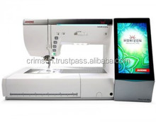 All Janome Horizon Memory Craft 15000 Embroidery and Sewing Machine with bonus accessories