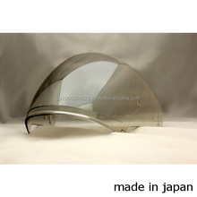 High quality touring ride visor for ARAI and SHOEI helmets made in JAPAN
