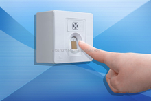 Highly protected Japanese finger print lock for personal identification