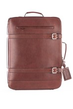 BRUNELLO CUCINELLI leather trolley - bag art. MBLLU139 MADE IN ITALY