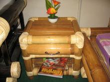 Sai gon mesa de cabeceira, cama de bambu