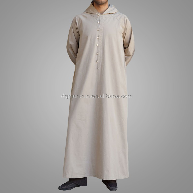 Latest muslim men hooded thobe cheap saudi men thobe1.jpg
