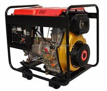 Diesel generator 5 KVA 230v Runsun Open Type Air Cooled Portable Diesel Generator with Electric Start
