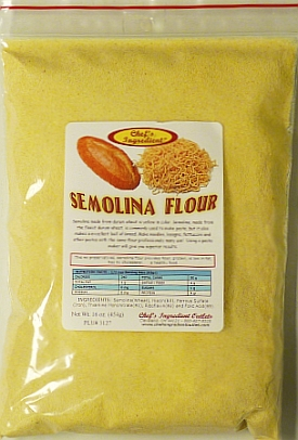 Where to find semolina flour