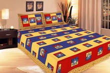 Embroidered Duvet Set/Bedding Fashion Printed Embroidered India Bedding Decorative Handmade Kutch Bedspread bedsheet