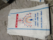 Recycled PP woven bag packaging 25kgs up to 50 kgs Flour, Feed, Corn, Fertilizer