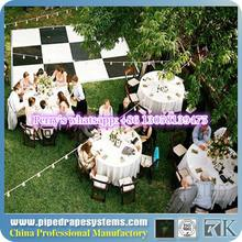 RK white and black vinyl dance floors how much does a dance floor cost for sale