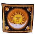 indio sol y la luna hipie tapices tribales colgar de la pared decorativos tiro de playa