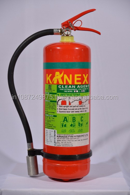 Clean Agent Fire Extinguisher Clean Agent Fire Extinguisher