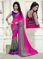 Fancy saree blouse designs \ Ethnic wear saree lace border design \ Sari blouse stitching