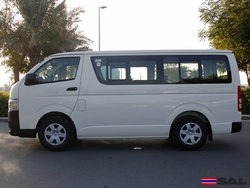 2016 TOYOTA HIACE 2.5L DX STD ROOF COMMUTER 15 SEATER 2WD 5MT DIESEL