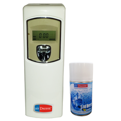 Airdscent Automatic Air/Room Freshener Perfume Dispenser - Digital With Refill - Cool Breeze
