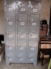 15 doors office lockers, lateral cabinet FILLING #254