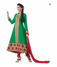 Atacado de roupas indianas loja/designer anarkali vestidos