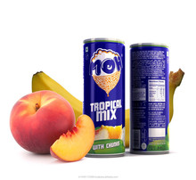 """MIXED FRUIT JUICE DRINK WITH REAL FRUIT BITS - BRAND NAME """"MOH"""""""