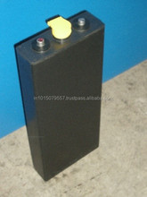2 VOLT BATTERY BS & DIN TYPE BOLT - ON CONNECTORS