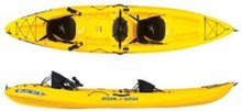FREE SHIPPING FOR Ocean Kay_ak Trident 13 Angler Kayak - Sit-On-Top Yellow, One Size