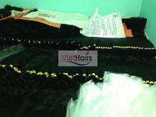 perfect texture double drawn 6a grade wavy human virgin hair