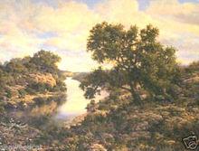 Ezekiel 32:14 by Larry Dyke - landscape