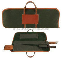 Top Quality Leather & cordura Gun Cover