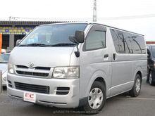 Razoável e japonês usado van para venda REGIUS ACE 2005 carro usado