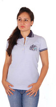 OEM popular high quality cheap us polo t shirts for women